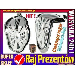 Cieknący zegar Salvadora Dali